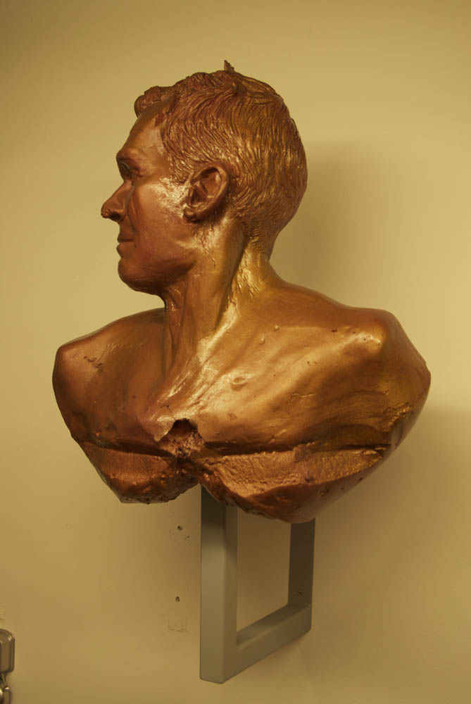 distorted bust
